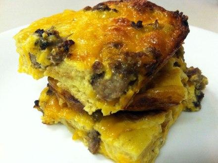 Breakfast Casserole | EatWithAJ.com